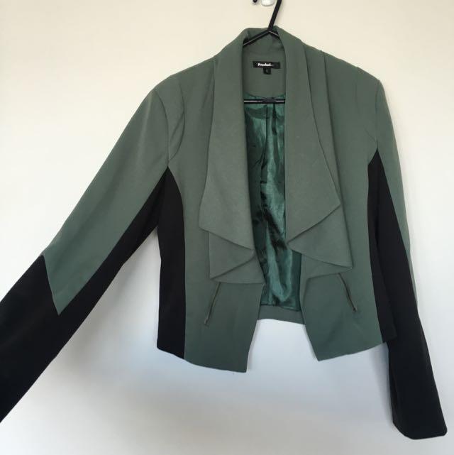 Rosebullet Folded Lapel Jacket