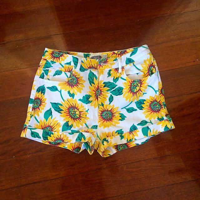 Sunflower Shorts