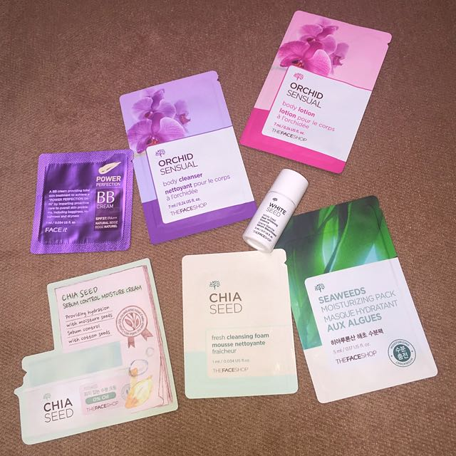 The Face Shop Fave Collection Tester