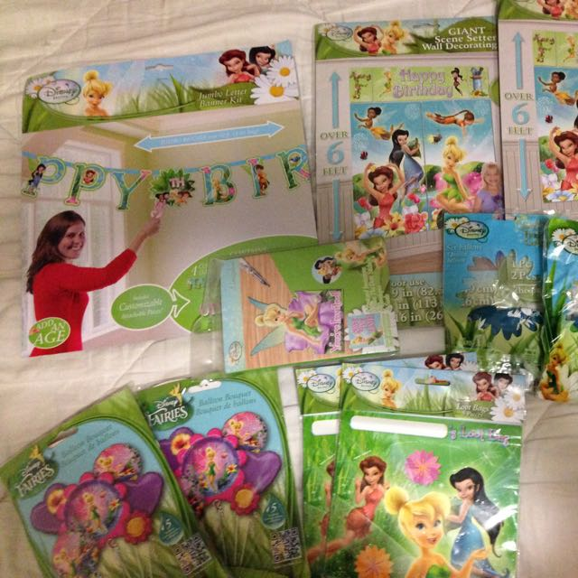 Tinker Bell Theme Party