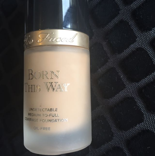 Too Faced, Born This Way Foundation