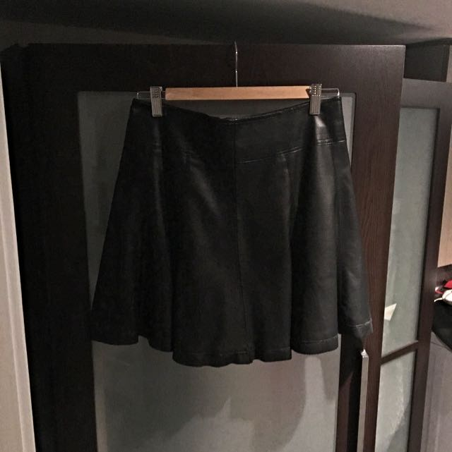 Urban Outfitters Vegan Leather Skirt