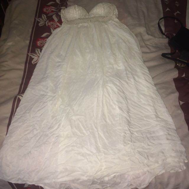 White Dress Size 14