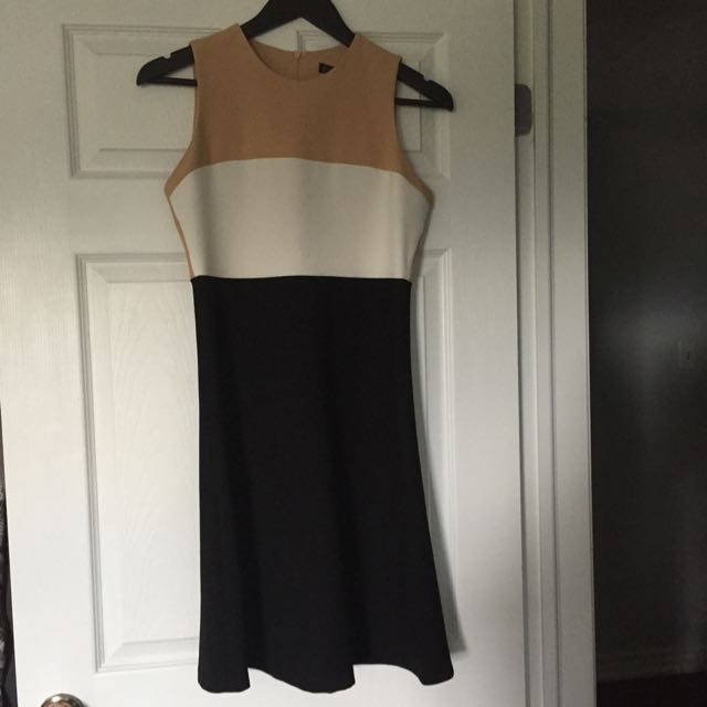 Zara Women Colour Block Dress