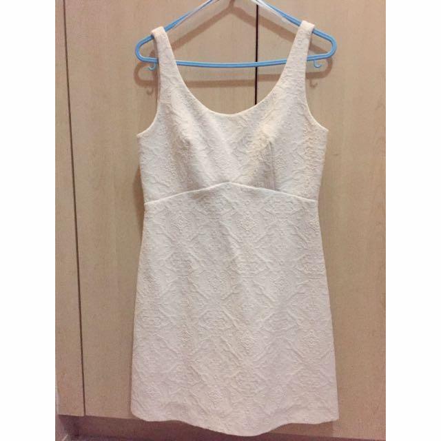 Zara Women Little White Dress