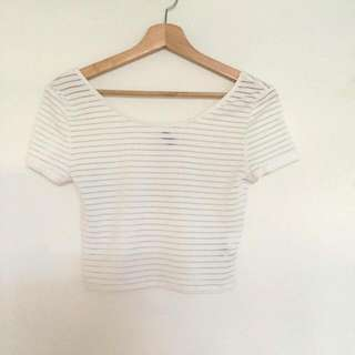 H&M Mesh Shirt