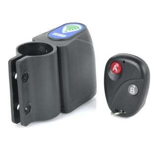 YY-610 Electric Bike/Bicycle Anti-Theft Wireless Security Alarm w/ Black Remote Control