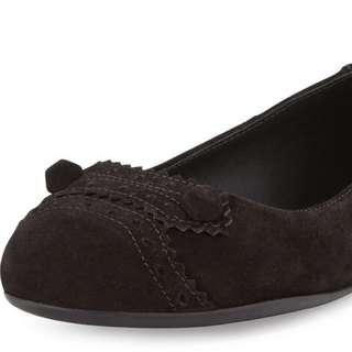 ✔️💯% Authentic BALENCIAGA Suede Flats - Size 5