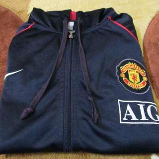 Manchester United Hooded Jacket EPL Champions 2007/08