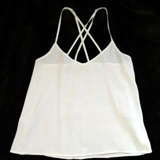 Hollister Criss Cross Tank