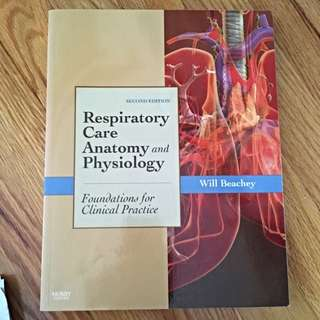 Respirator Care Anatomy And Physiology 2nd Ed