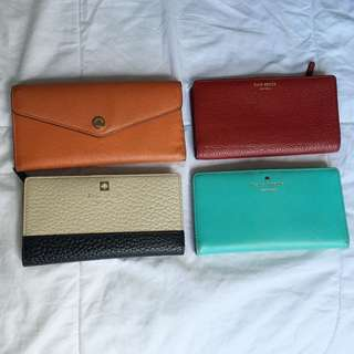 Kate Spade And Michael Kors Wallets