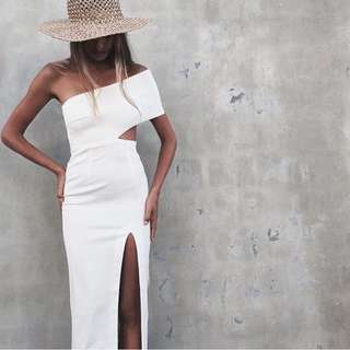 Maurie & Eve Genesis Dress White