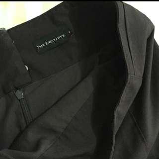 The Executive - Dark Brown Skirt
