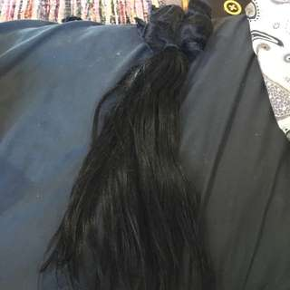 Human Black Hair Extensions