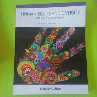 Human Rights And Diversity Course Reader For Humber College
