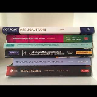 CHEAP YEAR 12 AND UNIVERISTY TEXTBOOKS