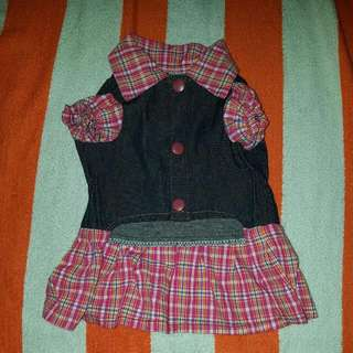 Girls Dress. New. For Dog