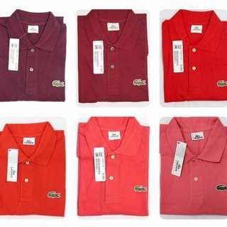 Authentic Grade Lacoste Polo Shirts