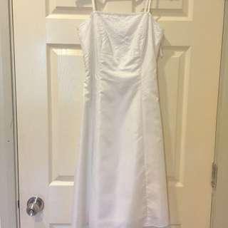 Embellished Prom Dress In Ivory