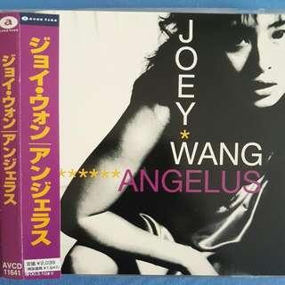 Joey Wang Zu Xian Japanese Album 王祖賢 Angelus 日語碟