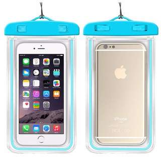 Clear Luminous & Waterproof hand phone Pouch