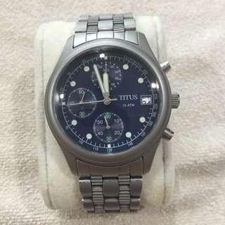 Mint condition Sovil Titus Chronograph Quartz Watch for sale