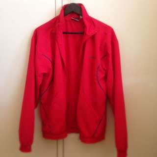 Red Reebok Wind Jacket