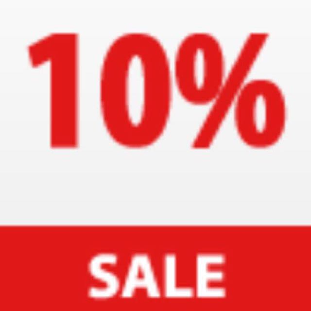 10% OFF ALL JEWELLERY