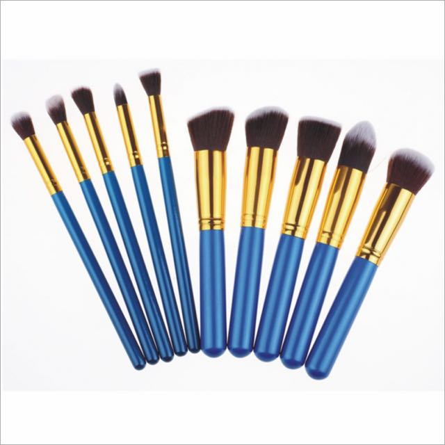 10 Pcs Make Up Brushes