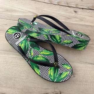 海島南洋渡假風夾腳拖鞋