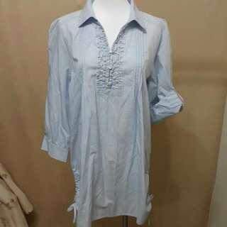 主婦二手日貨 CLOSSHI 8分袖長版衣