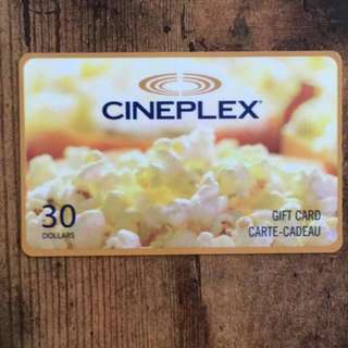 Never Used Cinepex Gift Card