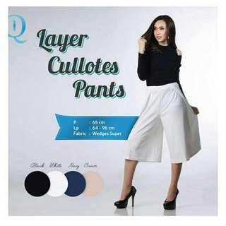 Layer Cullotes