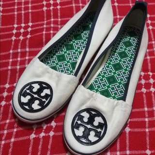 Authentic Tory Burch Slip On Shoes