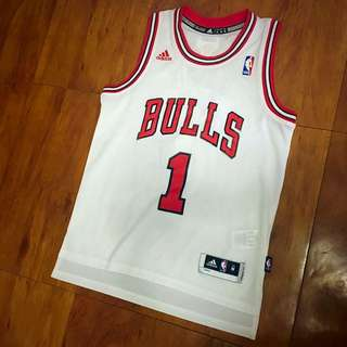 Adidas Bulls 公牛 Rose 球衣 NBA