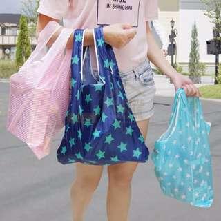 約翰家庭百貨》【YX035】便攜可折疊收納環保購物袋 超市購物提袋 布袋 防水收納袋 買菜袋 環保袋 隨機出貨