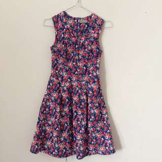 Ada Women's Flowers Dress