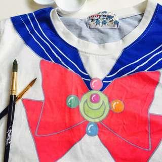 美少女戰士 趣味長t恤 日本