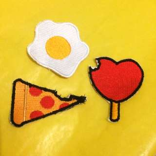 Patch : Egg, Pizza & Love