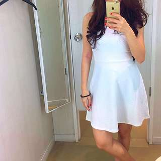 Dress White H&M