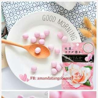 💋約會神器-Kracie玫瑰香體軟糖🍑 🇯🇵Made in Japan