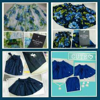 Abercrombie & Fitch (Anf) Skirts