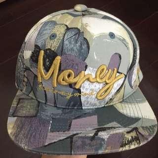 棒球帽 梵谷 Money