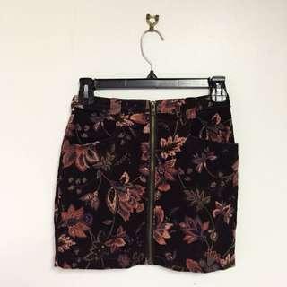 Ladakh Vintage Velvet Skirt