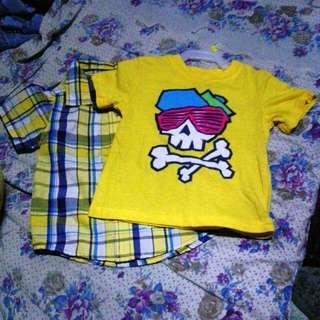 Healthtex Polo With Tshirt