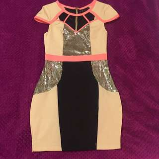 'Knight Angel' Party Dress Size 8