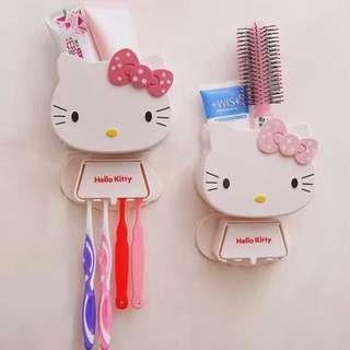 Hello Kitty Toothbrush Dispenser