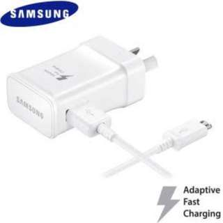 Genuine SAMSUNG FAST CHARGER ADAPTER & USB CABLE