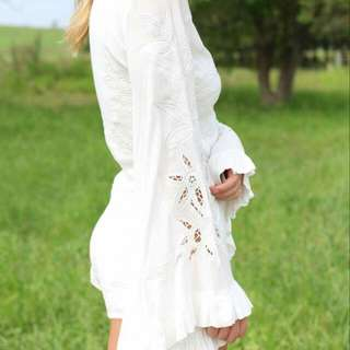 White Playsuits